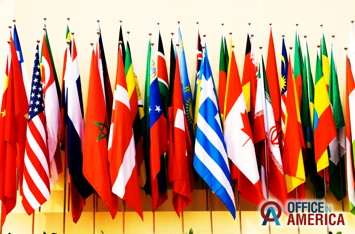 International Business Flags