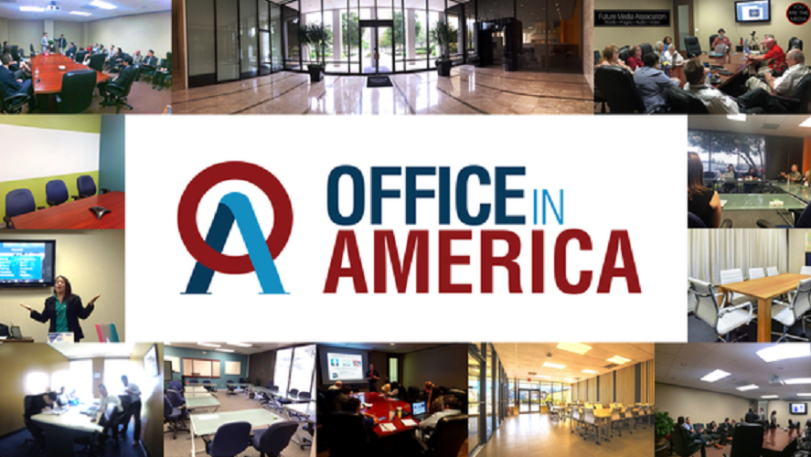 Office In America Co. virtual office meeting room Houston Texas